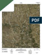 Topographic Map of Mahomet