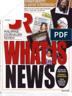 Philippine Journalism Review August 2002