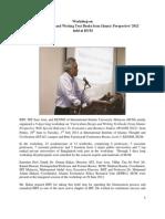 Workshop Report of IIUM 12