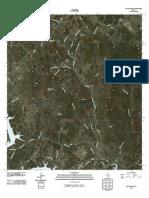 Topographic Map of Travis Peak