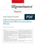 Lymphomyosot Aids Conventional Therapy in Diabetic Peripherial Neuropathy 2003