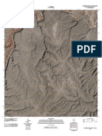 Topographic Map of Panther Gulch East