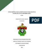 PENGURANGAN BULLWHIP EFFECT PADA RANTAI PASOK DI LEVEL DISTRIBUTOR Y
