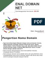 Kelas XI Sem 1 - Mengenal Domain