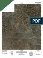 Topographic Map of Kickapoo Caverns