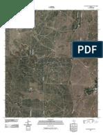 Topographic Map of Kickapoo Spring