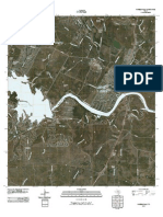 Topographic Map of Marble Falls