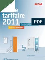 Catalogue Acova 2011 radiateurs électriques
