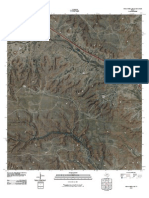 Topographic Map of Indian Mesa SE