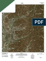 Topographic Map of Rio Frio