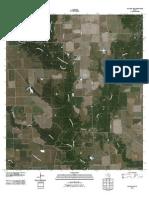 Topographic Map of Ganado NE