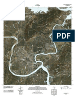 Topographic Map of Kingsland