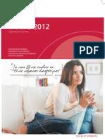 Catalogue Atlantic Tarifs 2012