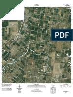 Topographic Map of Rio Hondo