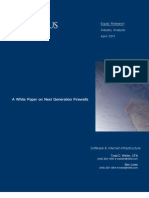 White Paper on Next Generation Firewalls April 2011