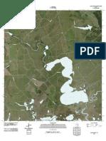 Topographic Map of Lake Austin