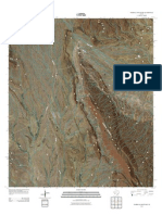Topographic Map of Mariscal Mountain