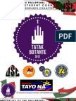 TATAK BOTANTE (Primer for Student Council Collaboration)