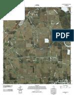 Topographic Map of Fannett East