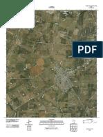 Topographic Map of Jourdanton