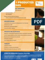 Plataforma Educativa. Productes i serveis. Juliol 2012
