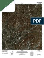 Topographic Map of Turkey Knob