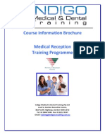 Indigo Medical Reception Training