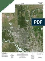 Topographic Map of Lake Jackson