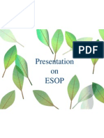 Presentation on ESOP