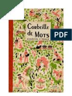 Langue Française Lecture courante CE1 Corbeille de mots 1949 Bourrelier