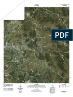 Topographic Map of Gatesville East