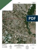 Topographic Map of Seagoville