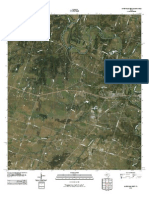 Topographic Map of Gatesville West