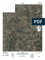 Topographic Map of Woodbine