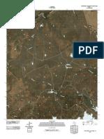 Topographic Map of Northwest Lake Kemp
