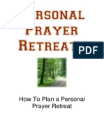 2008 Prayer Retreats