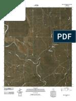 Topographic Map of Pecan Crossing