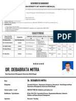 Mba Faculty Profiles