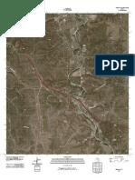 Topographic Map of Segovia