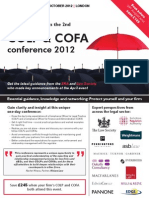 COLP and COFA conference 2012 - 2nd edition