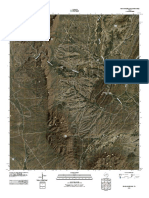 Topographic Map of Rock House Gap