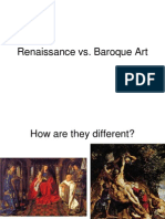 Renaissance vs Baroque Art