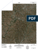 Topographic Map of Flat Rock Creek North
