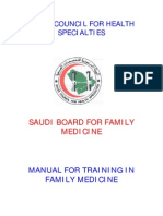 Saudi Council for Health Specialties Familymedicine