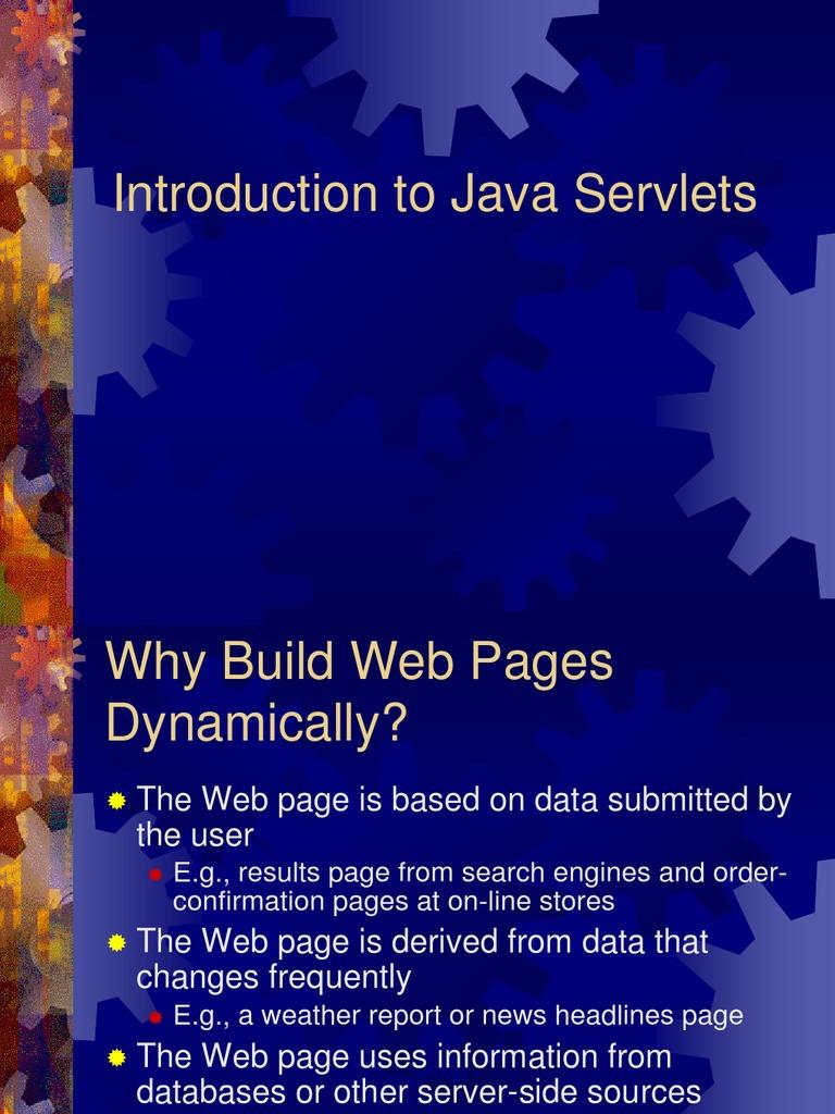 Java servlets java servlet java programming language baditri Images