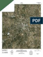Topographic Map of Lampasas
