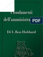 L. Hubbard - I Fondamenti Dell'Amministrazione