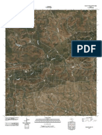 Topographic Map of Glass Ranch