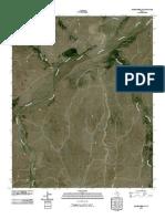 Topographic Map of Adobe Creek SW