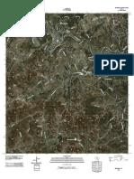 Topographic Map of Bandera